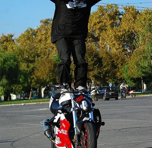 Guiguistunt Bluntzer stunt trening