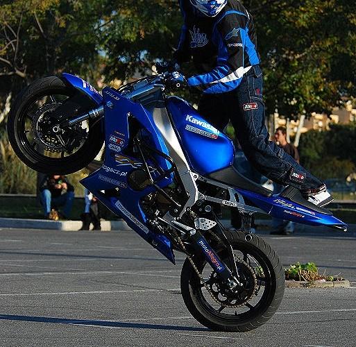 Hubert Dylon stunt