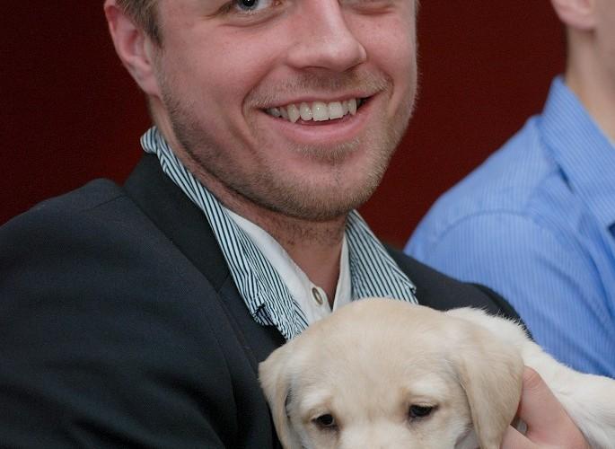 Bartek Sirko z psem