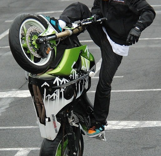 Adrian Pasek zawody stunt