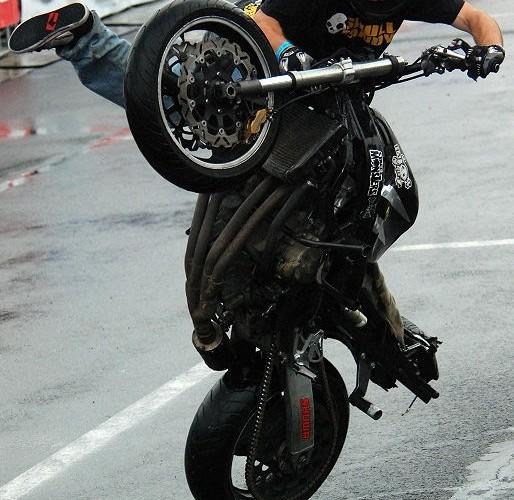 Jeandrot Romain pokaz stuntu