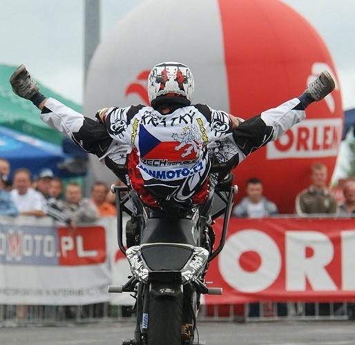 Kratky Martin stunt rider