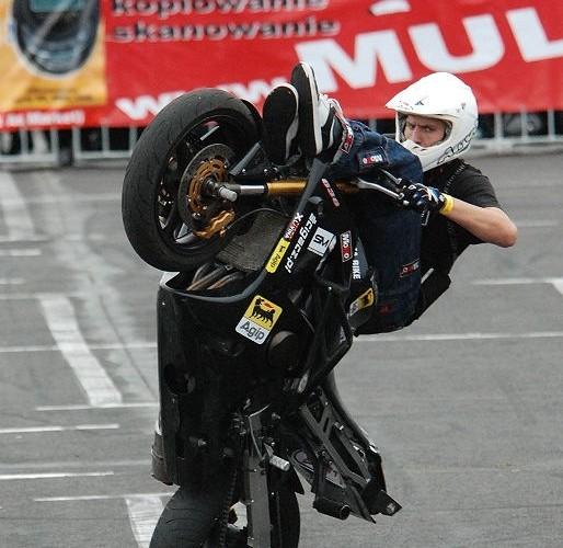 Lukasz FRS Zamosc jazda wyczynowa na motocyklu