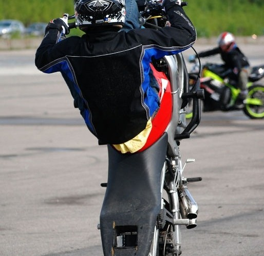 Grzybow trening stuntu