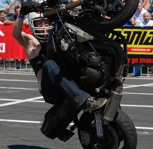 De Jong Klaas zawody stunt