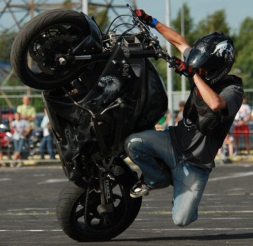 Gleyo Guillaume stunt