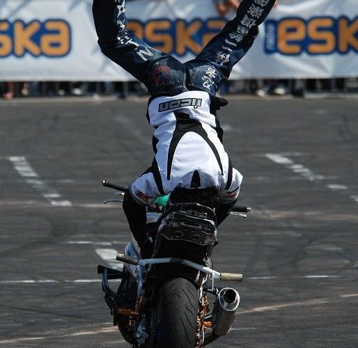 Japonia Shinsuke Kinoshita stunt