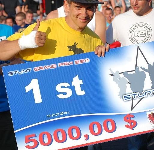 Stunter13 pierwsze miejsce