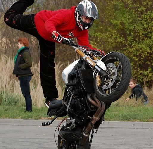 Jesienny trening stuntu MOK