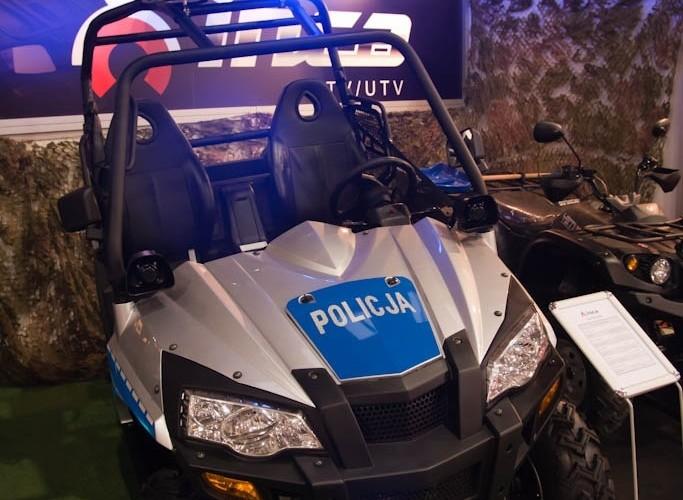 czterokolowiec policyjny Inca Targi Motocyklowe Warszawa 2011 - III OWMiS
