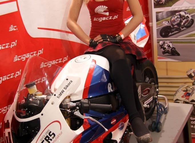 hostessa na bmw scigacz pl Targi Motocyklowe Warszawa 2011 - III OWMiS