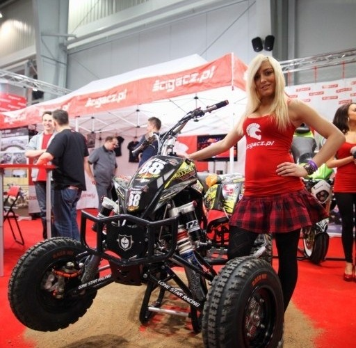 ktm univerpal racing Targi Motocyklowe w Warszawie - III Ogolnopolska Wystawa Motocykli i Skuterow 2011