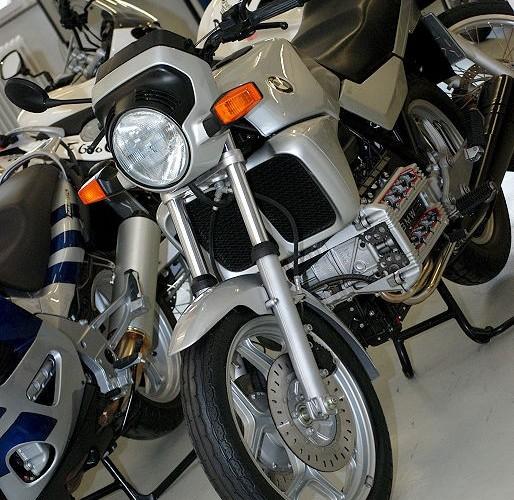 Motocykl demo