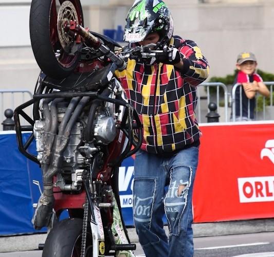 Verva Street Racing Warszawa stunt