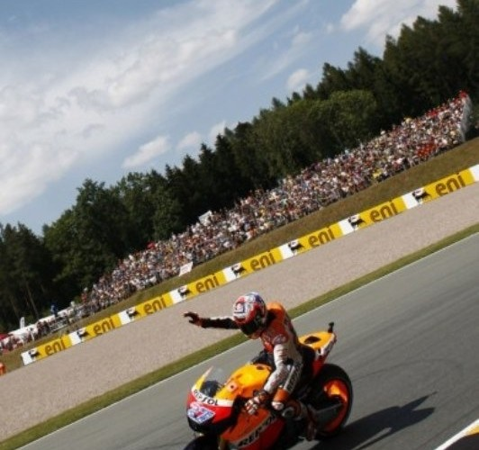 HondaRepsol Sachsenring Pedrosa
