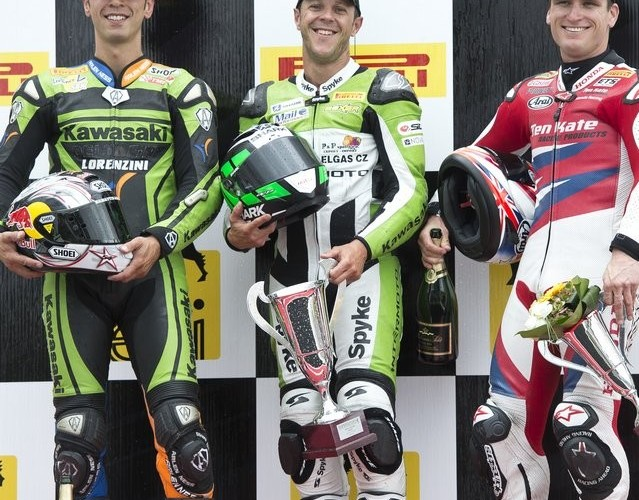 podium Supersport Brno