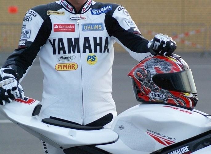 Marcin Malecki motocykl