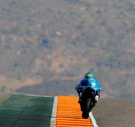 Bautista on the Track
