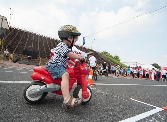 dziecko Honda Gymkhana Radom 2012