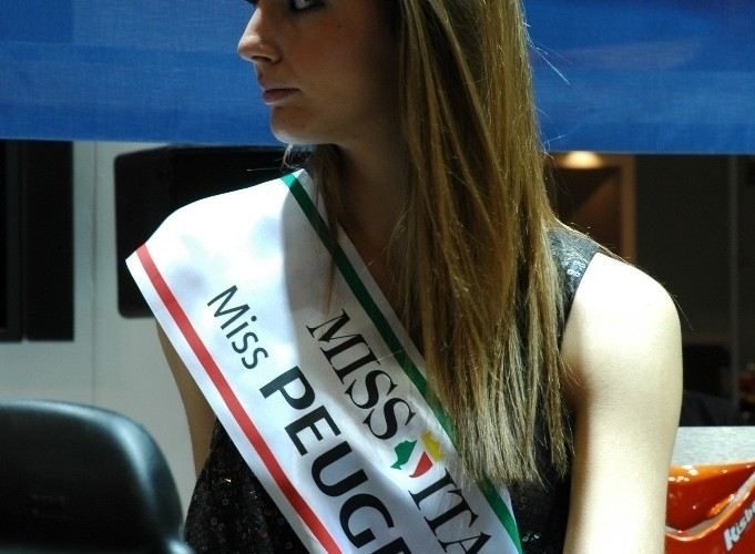 Targi Mediolan 2009 Miss Italia