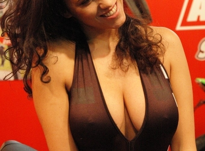 Targi Mediolan 2009 Miss SBK