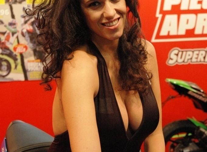 Targi Mediolan 2009 Miss superbike