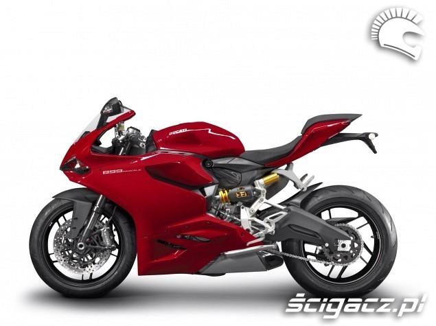 Ducati 899 Panigale z boku