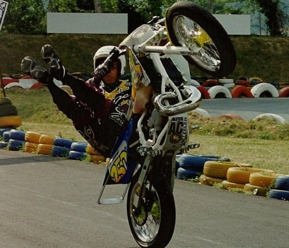 history of stunt riding AC Farias stunt show