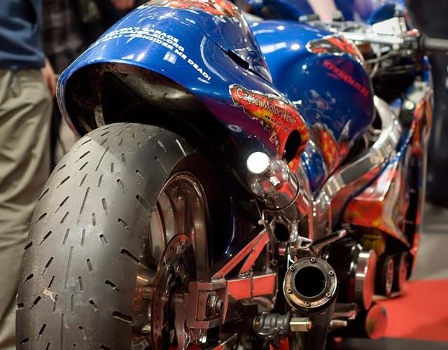 II Ogolnopolska Wystawa Motocykli i Skuterow 2010 Busa Szajba