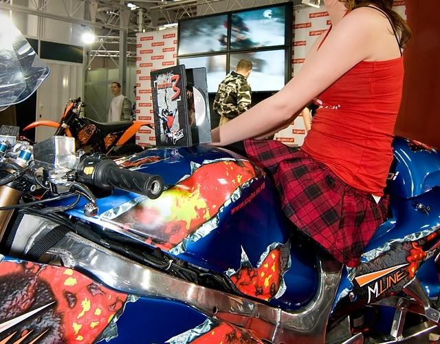 II Ogolnopolska Wystawa Motocykli i Skuterow 2010 Busa Szajby