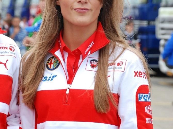 Ducati Xerox girl Misano