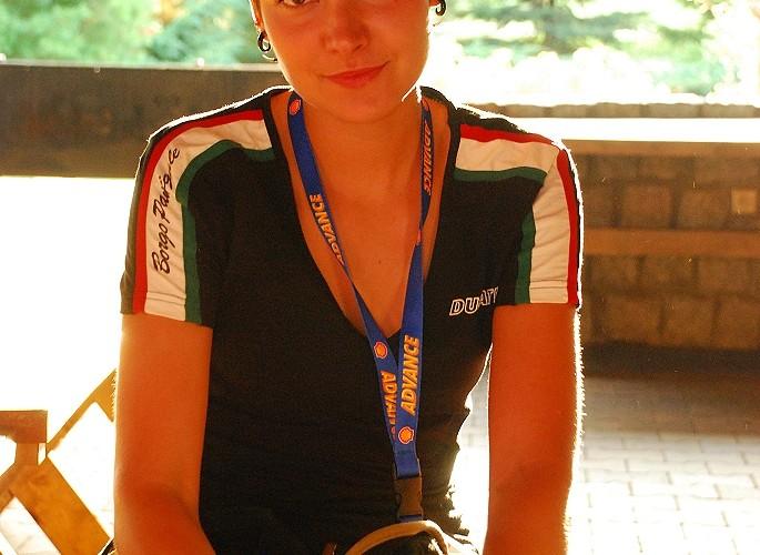 Olga Ducati Probike