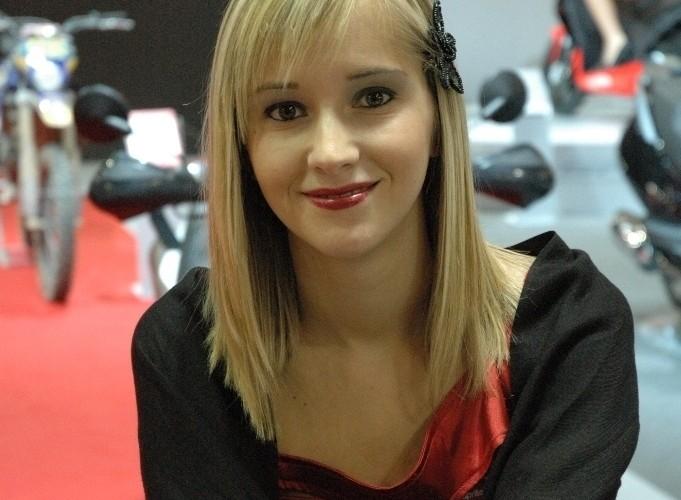 Targi Mediolan 2009 modelka