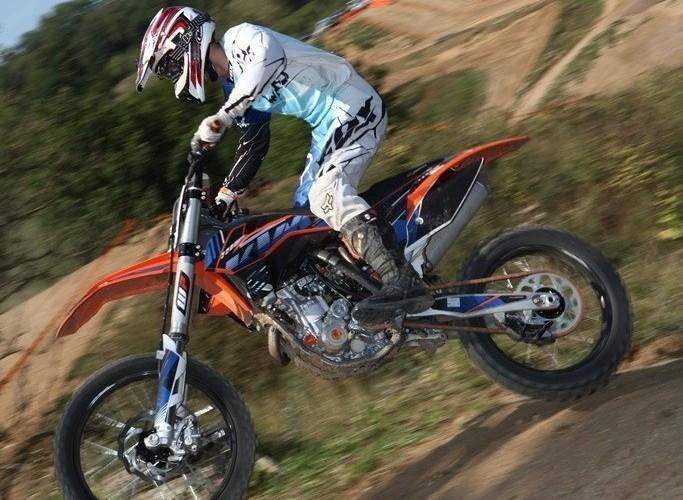 Motocross 450 kontra 350 porownanie KTM