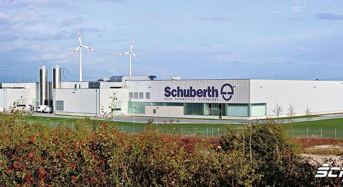 Fabryka kaskow motocyklowych Schuberth Magdeburg