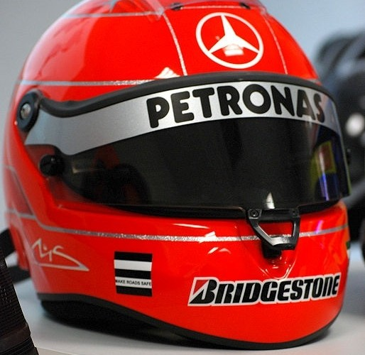Michael Schumacher kask Schuberth RF1 8 do F1