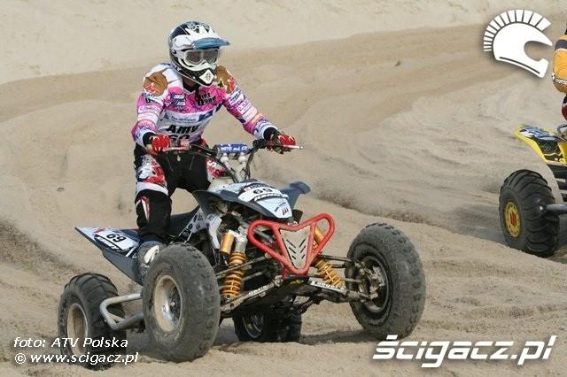 Le Touquet 2009 kierowca quada