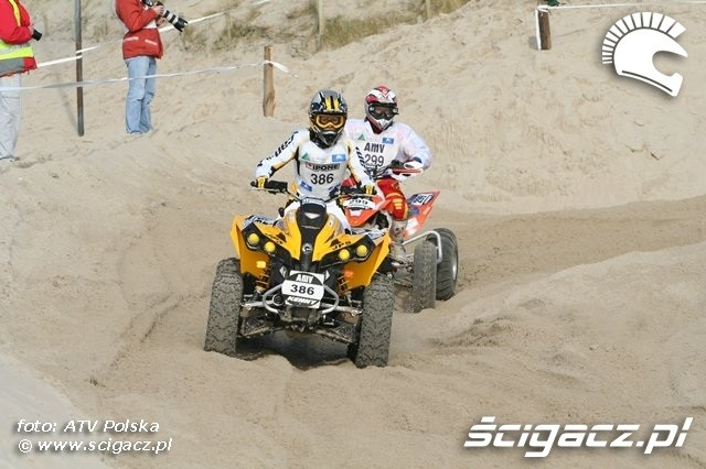 Le Touquet 2009 quad can-am