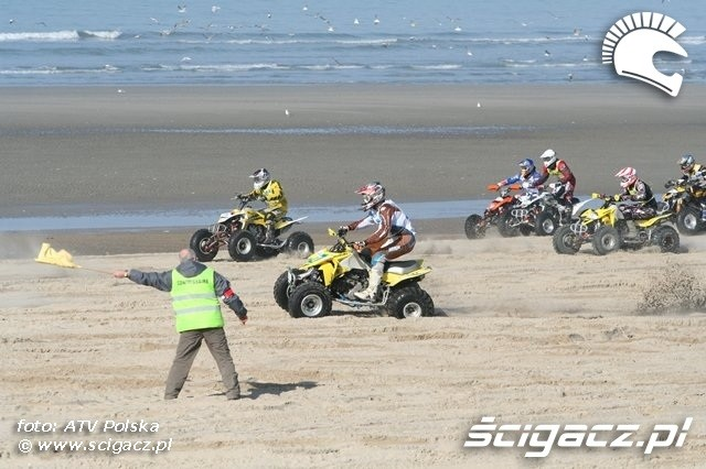 Le Touquet 2009 quady start