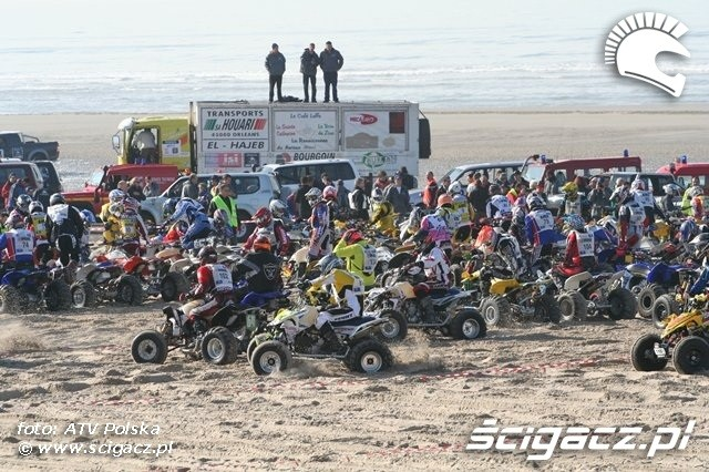 Le Touquet 2009 start quadow