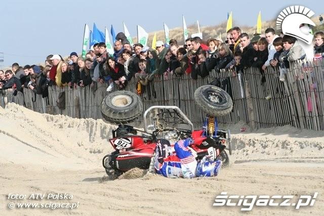 Le Touquet 2009 wypadek quada 1