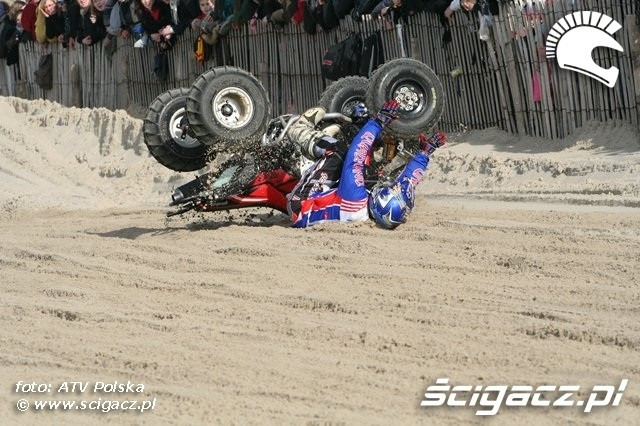 Le Touquet 2009 wypadek quada 2