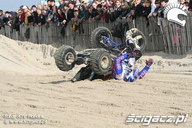 Le Touquet 2009 wypadek quada 3