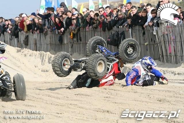 Le Touquet 2009 wypadek quada 4