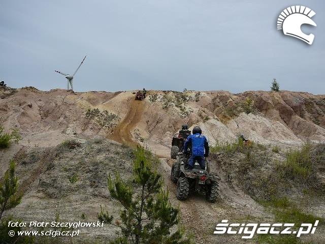 Yamaha Quad Club kopalnia piasku