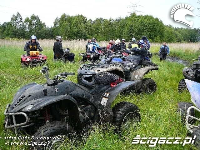 Yamaha Quad Club przerwa