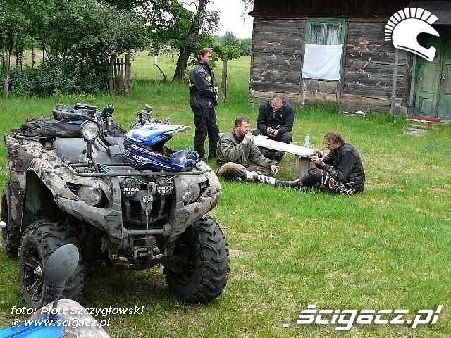Yamaha Quad Club relkas wypoczynek
