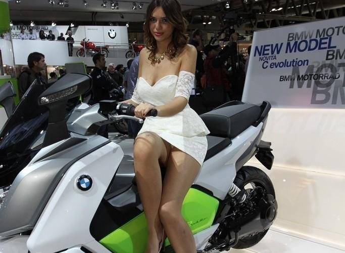 Elektryczne BMW EICMA 2013