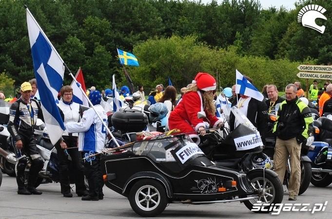flagi finlandia fim rally 2012
