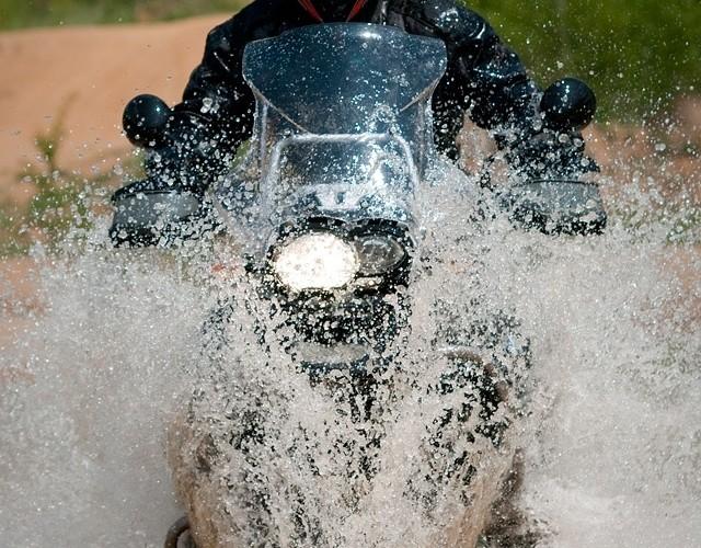 przejazd woda gs challange bmw bytom
